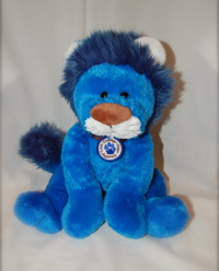 "A Plush Ryan's Lion ""Courage"" Lion"